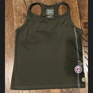 Life is Good Tech Tank Top Sz L built in bra